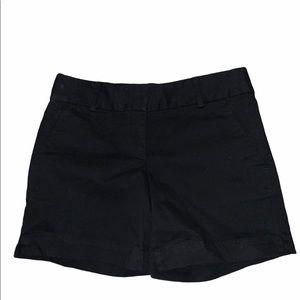 NWT LOFT 00 black shorts